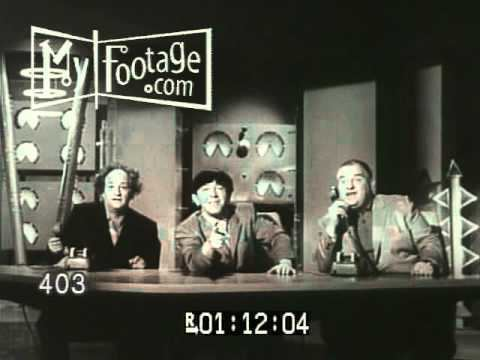The Three Stooges in Orbit Trailer THE THREE STOOGES IN ORBIT 1962 YouTube