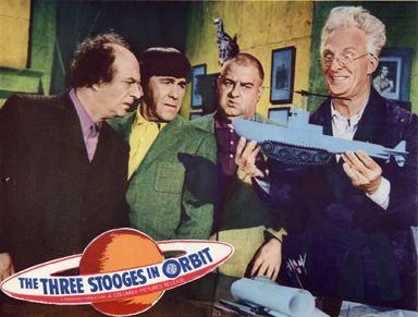 The Three Stooges in Orbit THREE STOOGES IN ORBIT 1962
