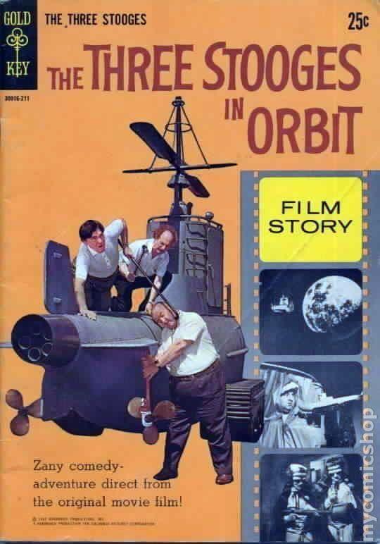 The Three Stooges in Orbit Three Stooges in Orbit 1962 Movie Comics comic books
