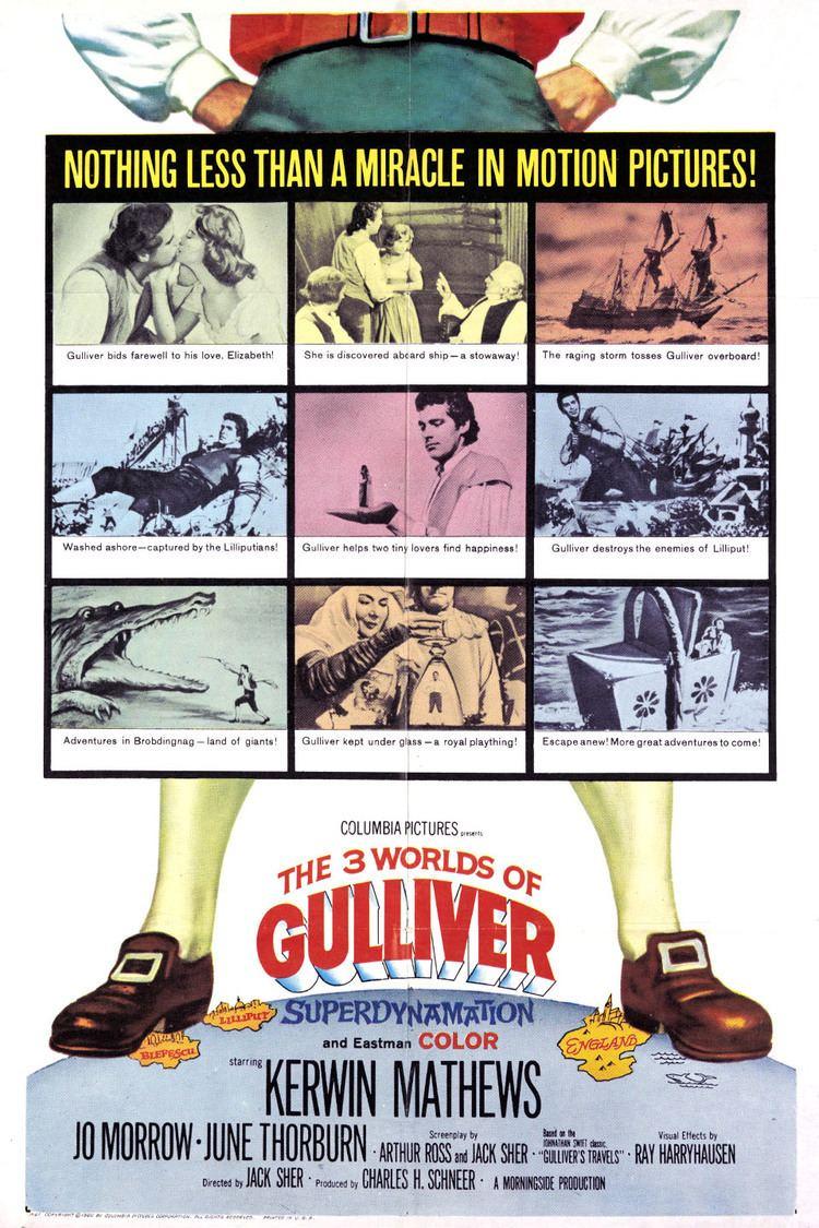 The 3 Worlds of Gulliver wwwgstaticcomtvthumbmovieposters4399p4399p