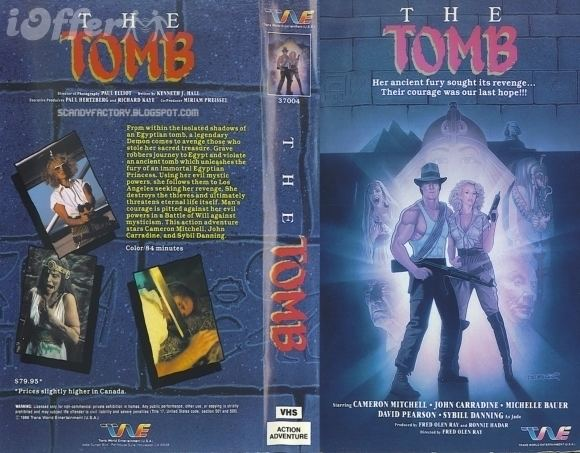 The Tomb 1986 Rare Horror DVD for sale