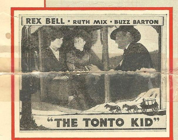 Pin Rex Bell Theodore Lorch And Ruth Mix In The Tonto Kid 1934