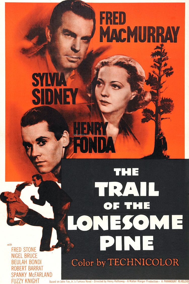 The Trail of the Lonesome Pine (1936 film) wwwgstaticcomtvthumbmovieposters39428p39428