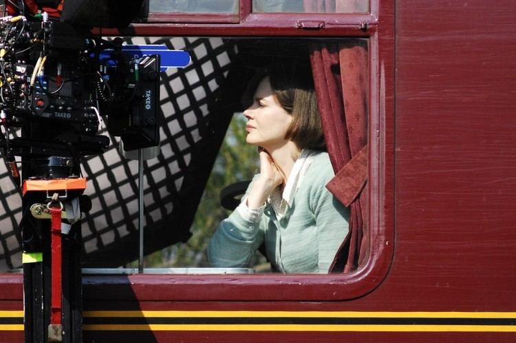 The Train (1973 film) movie scenes Nicole Kidman Nicole Kidman Filming A Train Scene from The Movie