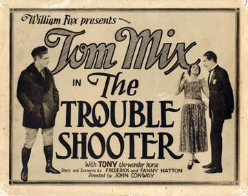 The Trouble Shooter movie poster