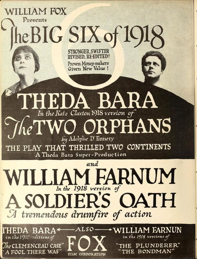 The Two Orphans was a 1915 American silent romantic drama film