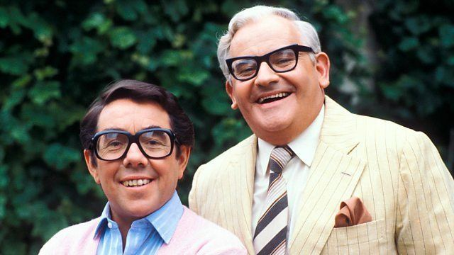 The Two Ronnies BBC Two Talking Comedy The Two Ronnies