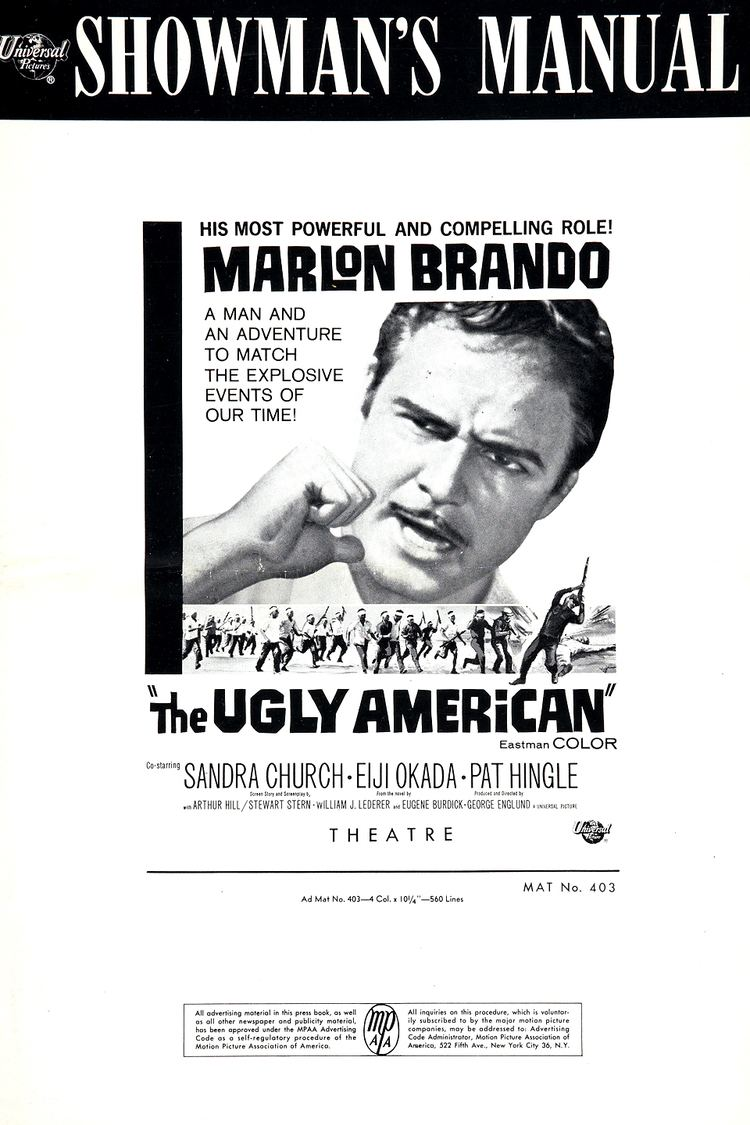The Ugly American (film) - Alchetron, the free social