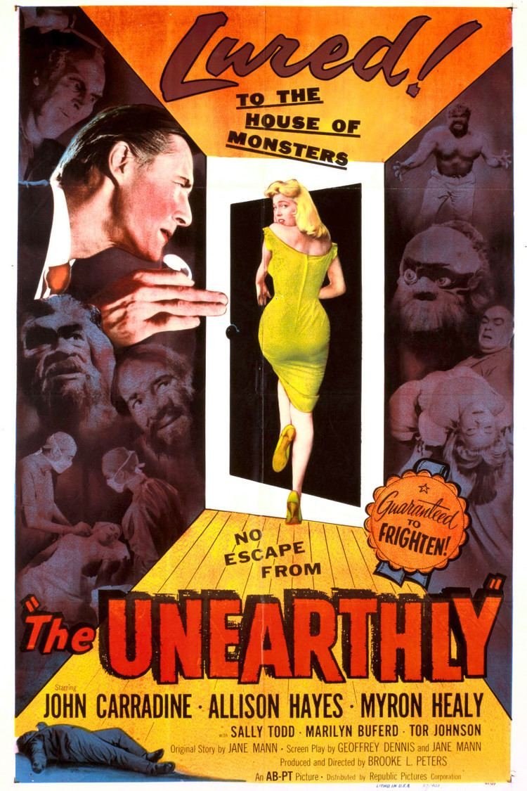 The Unearthly wwwgstaticcomtvthumbmovieposters369p369pv