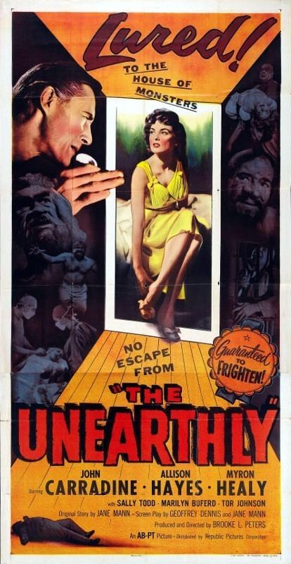 The Unearthly The Unearthly 1957 3B Theater Poster Archive