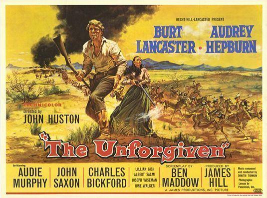The Unforgiven (1960 film) AUDREY HEPBURN MOVIES AND ACTORS IMMORTAL