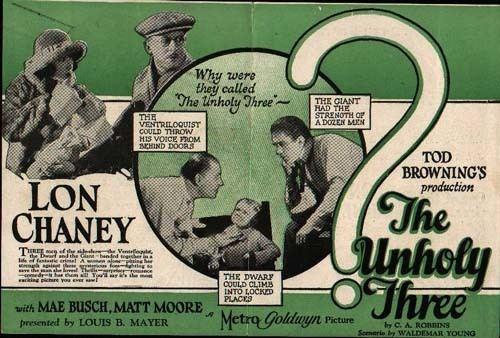 The Unholy Three (1925 film) The Unholy 3 1925