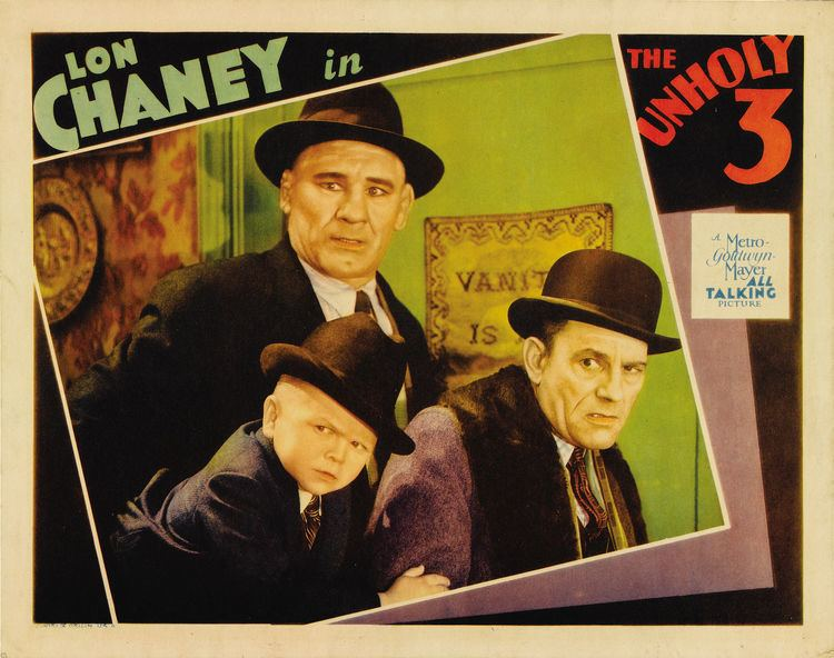 The Unholy Three (1925 film) TOD BROWNINGS THE UNHOLY THREE 1925 Alfred Eakers The BlueMahler