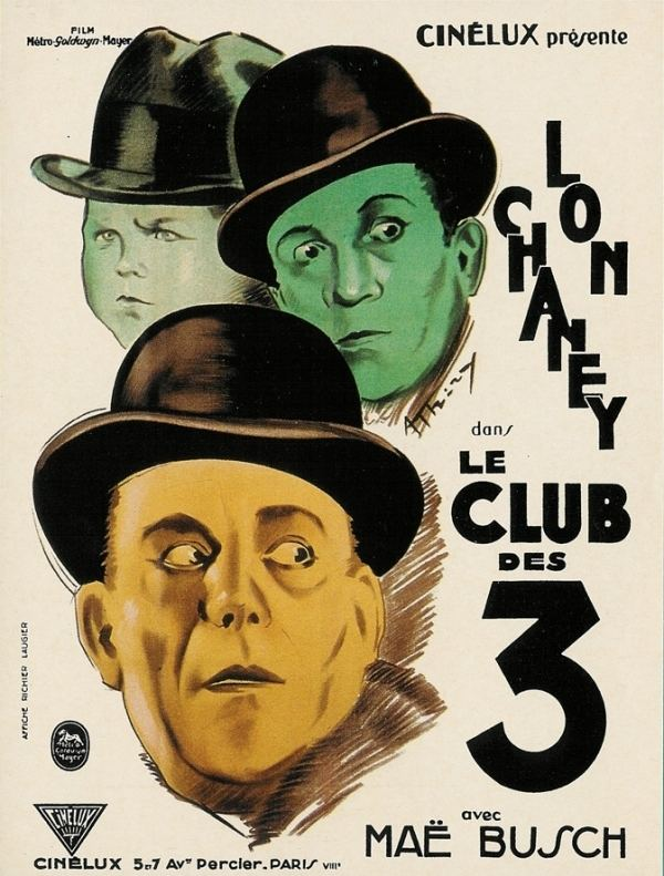 The Unholy Three (1925 film) 31 FLAVORS OF HORROR 4 THE UNHOLY THREE 1925 Demons Resume