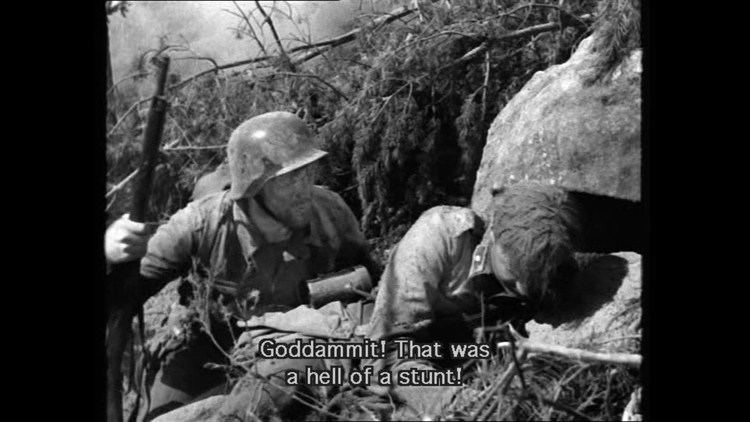 The Unknown Soldier (1955 film) Tuntematon Sotilas The Unknown Soldier 1955 Ensitaistelu