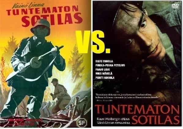 The Unknown Soldier (1955 film) Original vs Remake The Unknown Soldier Tuntematon Sotilas 1955