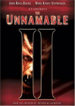 The Unnamable (film) The Unnamable II The Statement of Randolph Carter Wikipedia