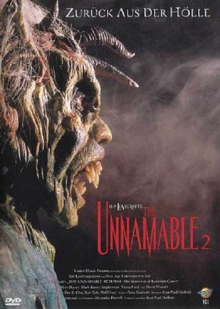 The Unnamable II: The Statement of Randolph Carter The Unnamable II The Statement of Randolph Carter 1992