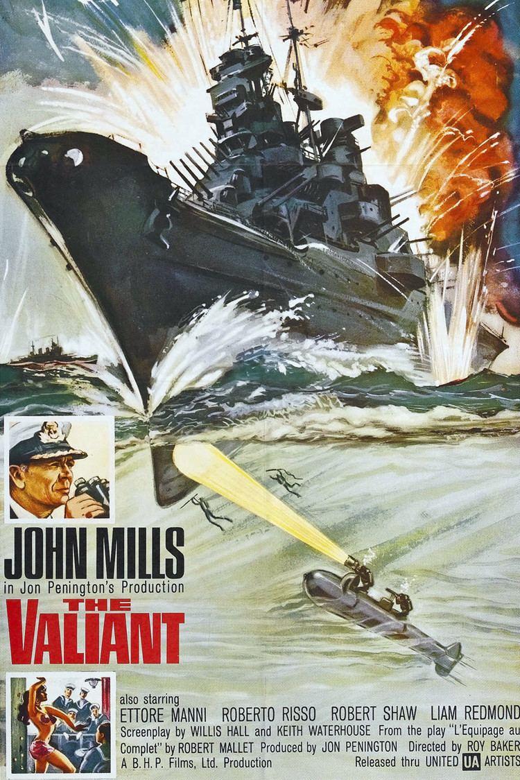 The Valiant (1962 film) wwwgstaticcomtvthumbmovieposters8247435p824