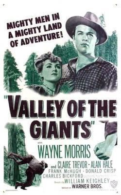 The Valley of the Giants (1938 film) movie poster