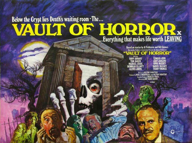 The Vault of Horror (film) The Vault of Horror UK 1973 HORRORPEDIA