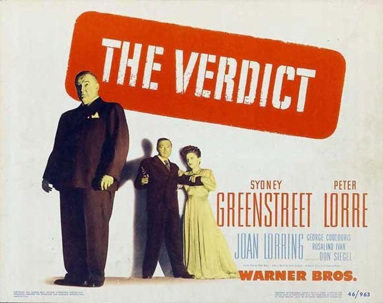 The Verdict (1946 film) The Verdict 1946