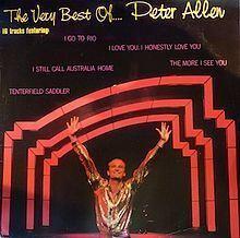 The Very Best of Peter Allen httpsuploadwikimediaorgwikipediaenthumbd