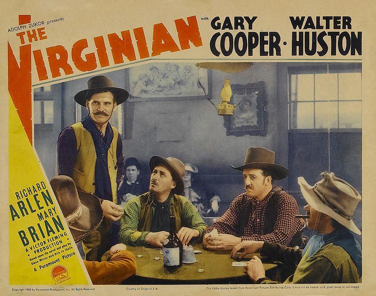 The Virginian (1929 film) The Virginian 1929