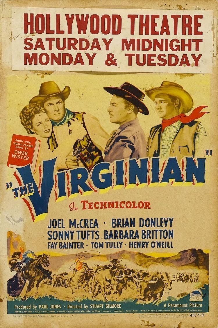 The Virginian (1946 film) Happyotter THE VIRGINIAN 1946