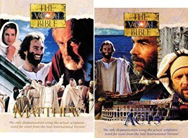 The Visual Bible: Matthew Amazoncom Visual Bible Matthew Acts Dean Jones Jennifer O