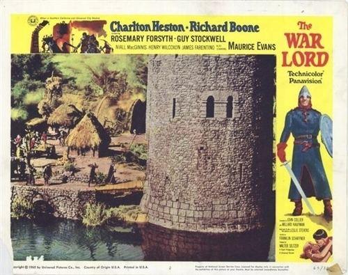 The War Lord The Warlord War Lord DVD 1965 799 Charlton Heston BUY NOW