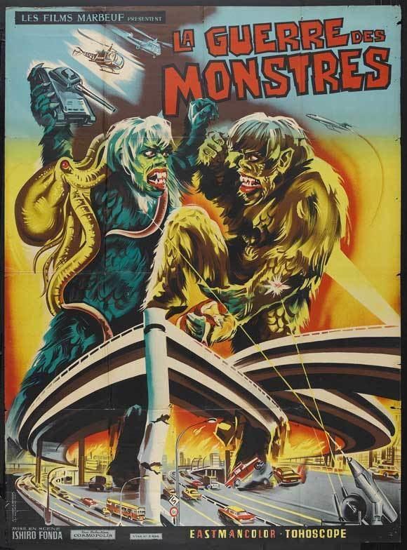 The War of the Gargantuas The War of the Gargantuas Movie Posters From Movie Poster Shop
