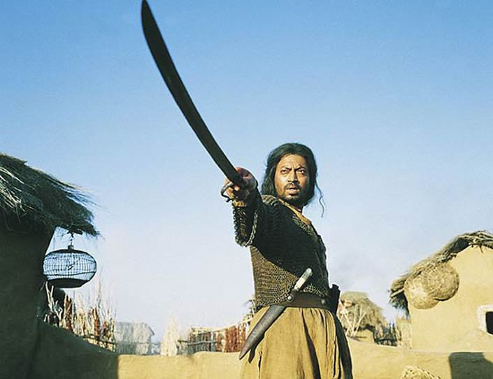 The Warrior (2001 British film) The Warrior Asif Kapadia 2001 Bluray review by Dave Lancaster