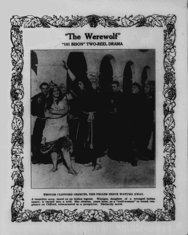 The Werewolf (1913 film) The Werewolf 1913 Classic Horror Film Board