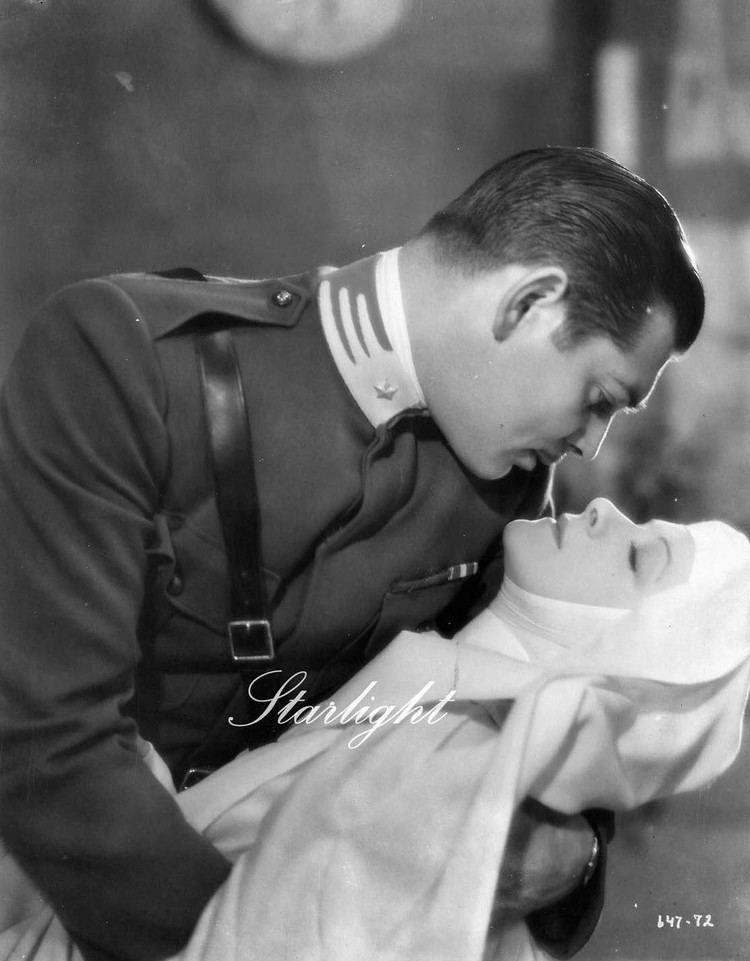 Clark Gable and Helen Hayes in The White Sister 1933 Clark Gable