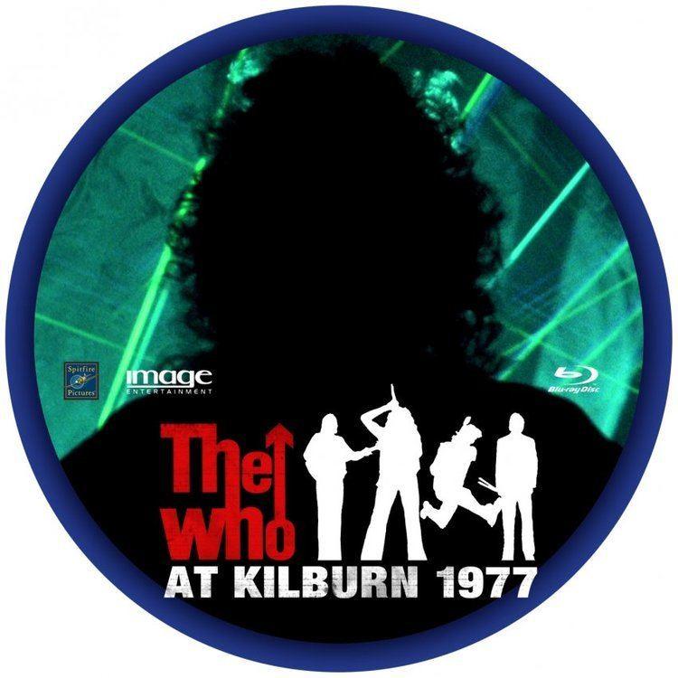 The Who at Kilburn: 1977 The Who At Kilburn 1977 Custom DVD Labels TheWhoKilburn BD