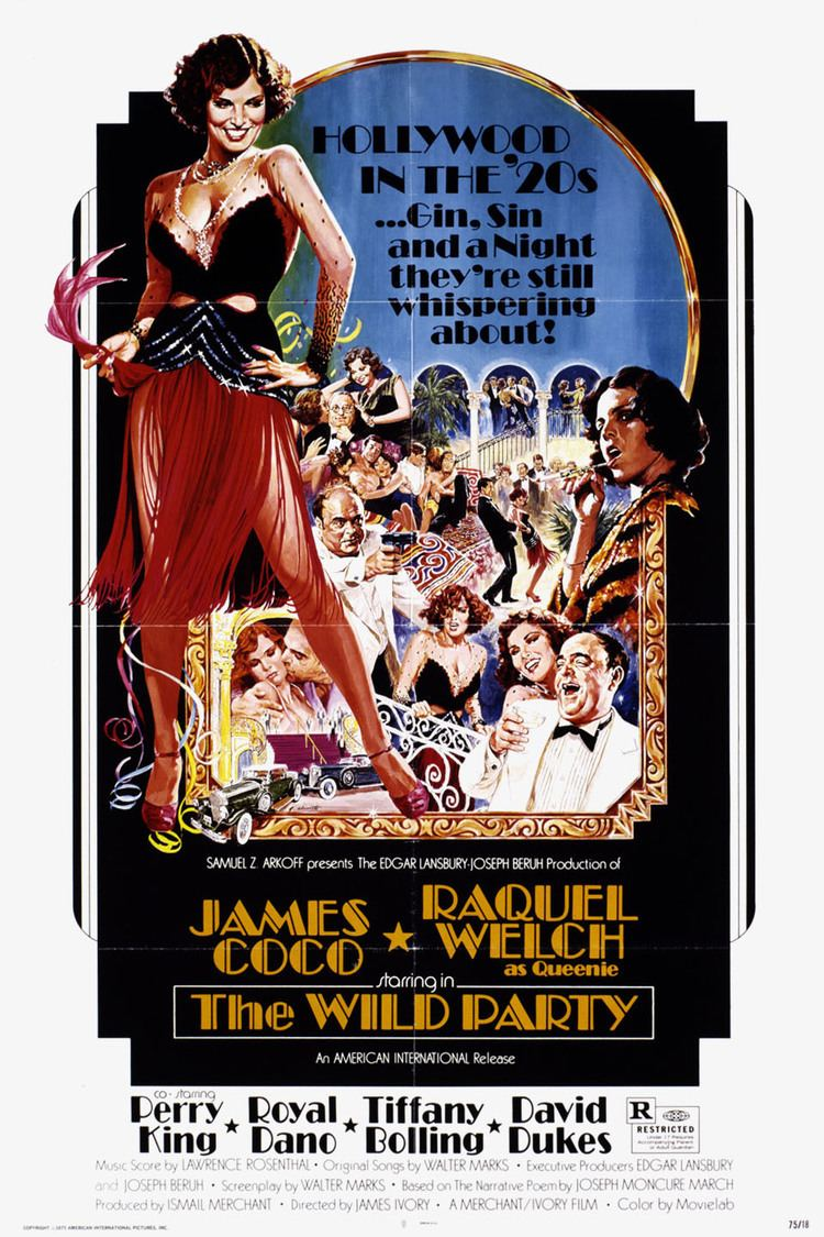 The Wild Party (1975 film) wwwgstaticcomtvthumbmovieposters5407p5407p