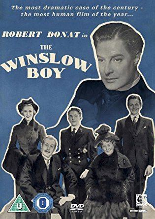 The Winslow Boy (1948 film) The Winslow Boy DVD 1948 Amazoncouk Robert Donat Cedric