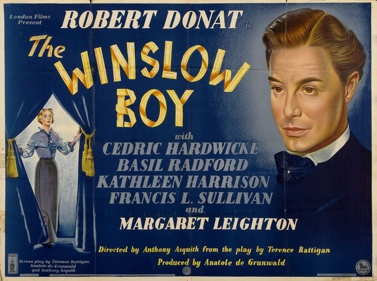 The Winslow Boy (1948 film) The Winslow Boy 1946 British film version of a Terence Rattigan