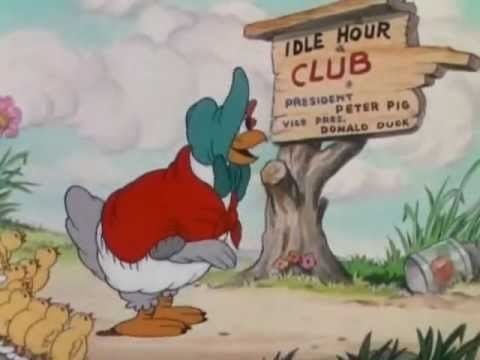 The Wise Little Hen 1934 Donald Duck The Wise Little Hen YouTube