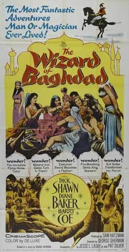 Wizard of Baghdad Movie Posters From Movie Poster Shop