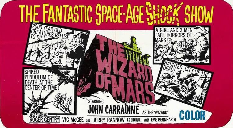 The Wizard of Mars aka Horrors of the Red Planet USA 1965