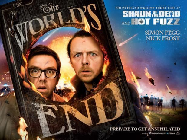 The Worlds End (film) movie scenes The Featurette for World s End Shows Edgar Wright Simon Pegg and Nick Frost