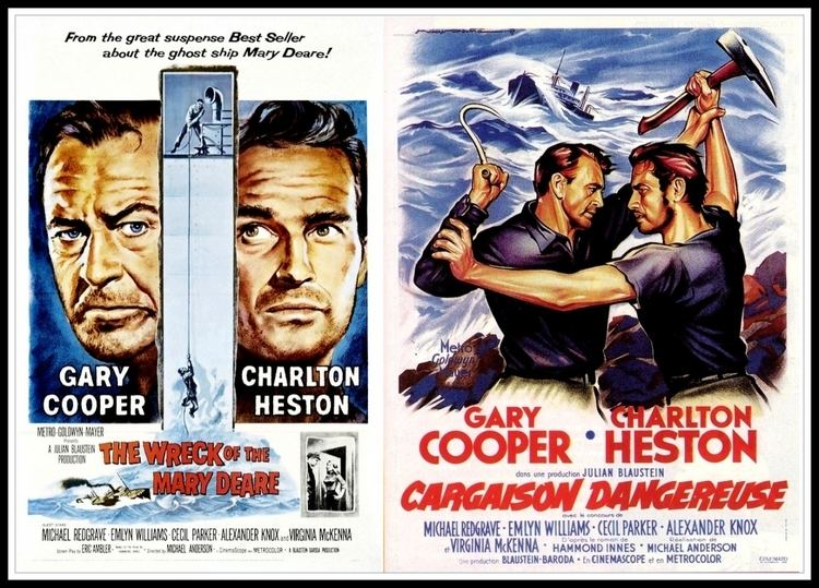THE WRECK OF THE MARY DEARE 1959 Gary Cooper Charlton Heston