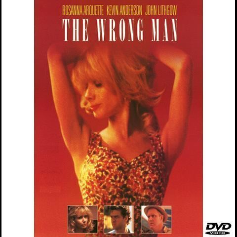 The Wrong Man DVD John Lithgow Rosanna Arquette 1993 for sale in