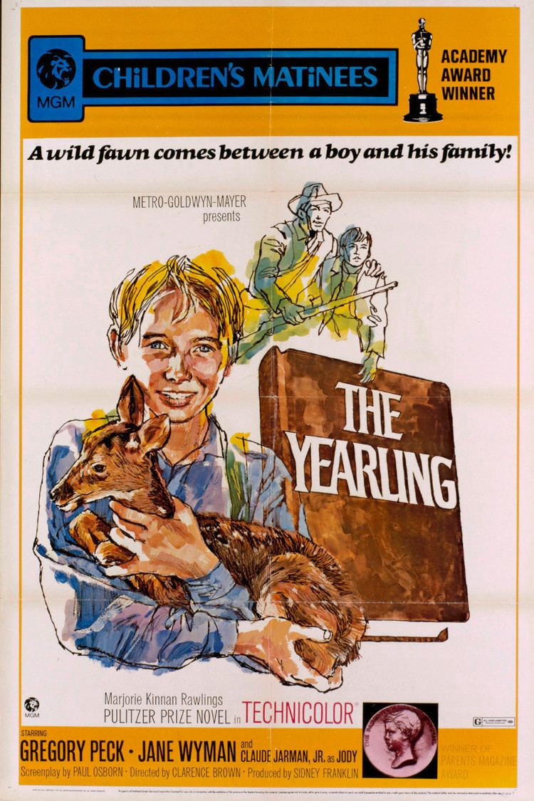 The Yearling (film) wwwgstaticcomtvthumbmovieposters4313p4313p