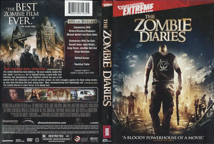 The Zombie Diaries The Zombie Diaries Michael G Bartlett Kevin Gates