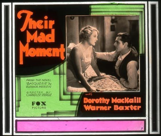 Their Mad Moment 1931