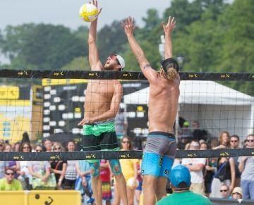 Theo Brunner Casebeer Brunner win AVP awards Presidio Sports