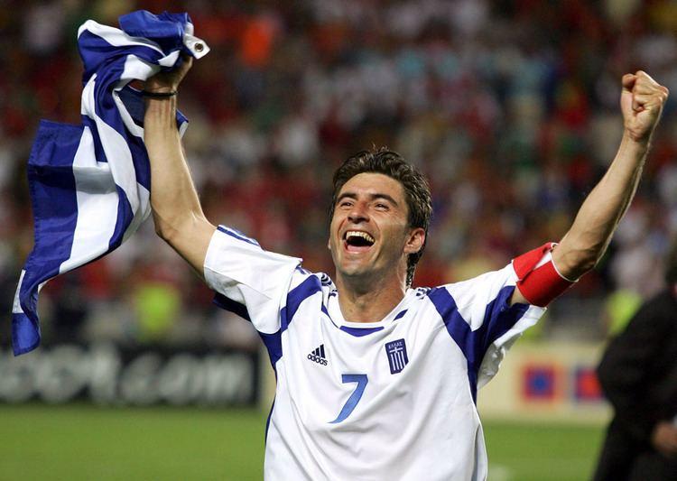 Theodoros Zagorakis World Cup Euro 2004 winner reveals his favourite for the
